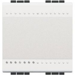 Intrerupator Bticino N4003M2N Living Light - Intrerupator cap scara 16A - 250V, 2 module, borne cu surub, alb