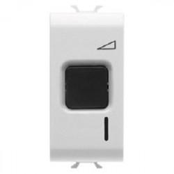 Intrerupator Gewiss GW10568 Chorus - Intrerupator cu variator rezistiv/inductiv 1M 60-500W alb