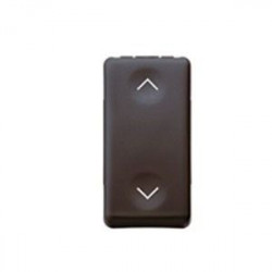 Intrerupator Gewiss GW21559 System - Intrerupator stroruri 3P 1-0-2 10A 1M Negru