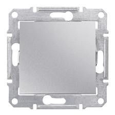 Intrerupator Schneider SDN0100160 Sedna - Intrerupator simplu, 10 AX - 250 V Aluminiu