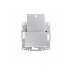 Intrerupator Schneider SDN1900160 Sedna - Intrerupator cu card, 10 AX - 250 V aluminiu
