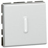 Legrand 079212 Mosaic Intrerupator cap-scara cu lumina de control, alb