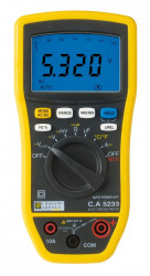 Multimetru Chauvin Arnoux CA 5233 - Multimetru digital AC TRMS IP54, pentru HVAC