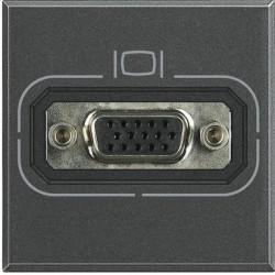 Priza Semnal Bticino HS4282 Axolute - Conector video HD15, 2M, negru