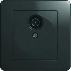 Priza Tem KE10NB-B Ekonomik - Priza simpla TV capat negru