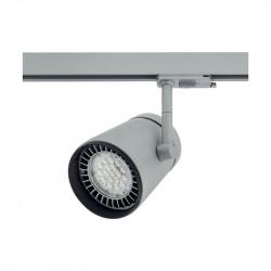 Proiector Arelux XShop Led SP03WW24 S - Proiector cu led 22.5W 3000K 24grd. IP20 S(5f), argintiu