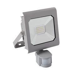 Proiector LED Kanlux 25588 ANTRA - Proiector led cu senzor miscare, 20W, 4000k, IP44, argintiu