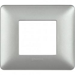 Rama Bticino AM4802MSL Matix - Rama 2 module argintiu