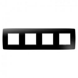 Rama Gewiss GW16128TN Chorus - Rama One International, 4P, 8M, oriz, termoplastic, negru toner
