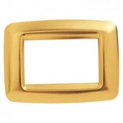 Rama Gewiss GW32766 Playbus - Rama Playbus Young, 6M, oriz, tehnopolimer metalizat, auriu antique