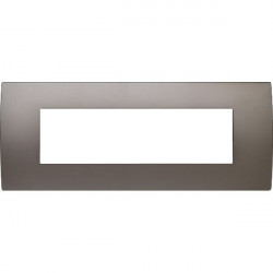 Rama Tem OP70MN-U Modul - Rama metalica decorativa Pure 7m nichel satinat