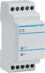 Releu Hager EU100 - Releu de monitorizare al tensiunii minime 230V, AC