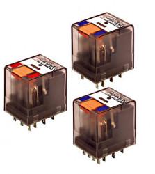 Releu Schrack PT370730 - Releu comutatie 230V, AC, 3C, 10A