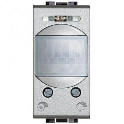 Senzor miscare Bticino NT4431 Living Light - Senzor de miscare, 2A, 1M, argintiu