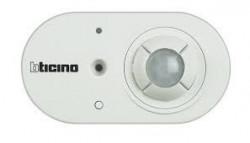 Senzor miscare/crepuscular Bticino BMSE1001 Axolute - Senzor infrarosu + senzor crepuscular, 230V, alb