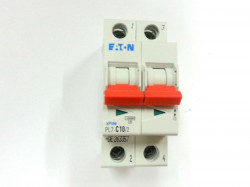 Siguranta automata Eaton 165083 - DISJUNCTOR PL7-B2/2 2P, 2A, 10kA, B