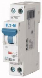 Siguranta automata Eaton 263301 - DISJUNCTOR PLN4-C20/1N 1P+N, 20A ,4,5kA, C