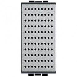 Sonerie Bticino NT4351/127 Living Light - Sonerie de bronz 127V c.a.- 80 dB, 1M, argintiu