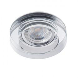 Spot Kanlux MORTA B 22117 - Spot incastrat, Gx5,3, 12V, max 50W, IP20, argintiu
