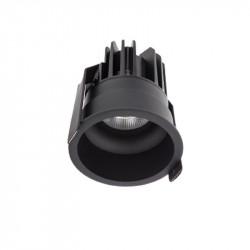 Spot LED Arelux XClub CU02NW50 BK - Corp LED 1x11W 4000K 500mA 50grd. IP20 BK (5f), negru