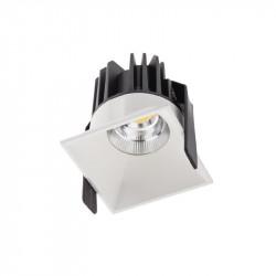 Spot Led Arelux XDomino DM01NW50 MWH - Corp iluminat cu led 15W 700mA 50grd. 4000K IP20 MWH (5f), alb