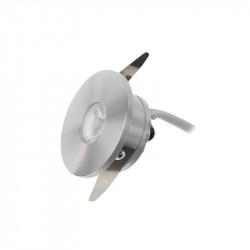 Spot LED Arelux XTwist TW01WW40 BA - Corp iluminat cu led 1x3W 3000K 700mA 40grd. IP40 BA (5f), argintiu