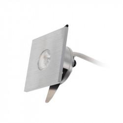 Spot LED Arelux XTwist TW02NW40 BA - Corp iluminat cu led 1X3W 4000K 700mA 40grd. IP40 BA (5f), argintiu