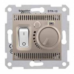 Termostat Schneider SDN6000168 Sedna - Termostat de camera 10 A - 230 V, titan