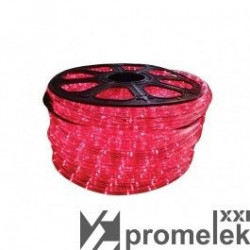 Tub Led Flink FK-TL-100M-RED-LED - Tub luminos LED rosu 100m