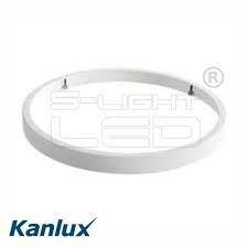 Accesoriu Kanlux 26671 SANVI RING - Inel ornamental corpuri de iluminar Sanvi, 411mm, alb