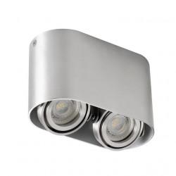 Aplica Kanlux 26118 TOLEO DTO - Plafoniera 2xmax 25W, Gu10, IP20, aluminiu periat