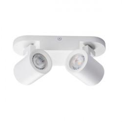 Aplica Kanlux 29122 Laurin - Plafoniera LAURIN EL-2I White GU10 2x35W