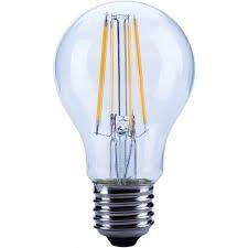 Bec cu led Opple 140051146 - Sursa filament LED E A60 FILA E27 6W 2700K CL BL