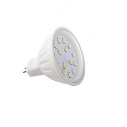 Bec Kanlux LED15 22203 - Spot LED, 12V DC, 4,5W, Gx5,3, 2700-3200k, 390lm, alb