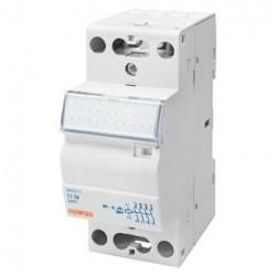 Contactor Gewiss GWD6718 - Contactor putere CTR - 25A 3NO+1NC 230V - 2 MODULES