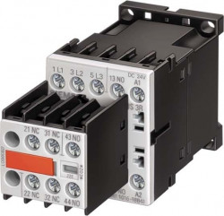 Contactor Siemens 3RT1016-1BB41 - CONTACTOR, AC-3 4 KW/400 V, 1 NO, DC 24 V