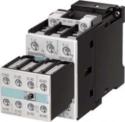 Contactor Siemens 3RT1023-1AB04 - SCHUETZ, AC-3, 4KW/400V, AC 24V, 50HZ, 3POLIG, BGR. S0, SCHRAUBAN