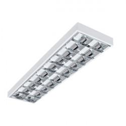 Corp de iluminat Kanlux Notus 22672 - Corp aplicat, T8, G13, 4LED, 2x36W, 1223x295, IP20, alb