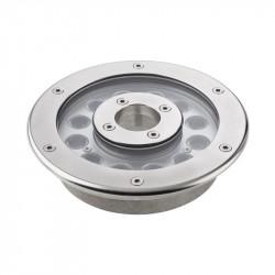 Corp iluminat Arelux XNauta NA02CW40 - Corp subacvatic 12X1W CW 45grd. IP68 (5f), aluminiu