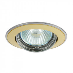 Corp iluminat Kanlux 2805 BASK CTC-5515 - Spot incastrat directional, Gx5,3, max 50W, 12V, IP20, auriu satinat/nichel