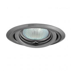 Corp iluminat Kanlux 334 ARGUS CT-2115 - Spot incastrat directional, Gx5,3, max 50W, 12V, IP20, argintiu