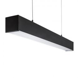 Corp iluminat LED Kanlux 28146 Alin Led- Corp liniar AL 33W-830-MAT-B, 3000k, 1693mm, negru