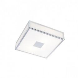 Corp iluminat Redo 01-1237 Ego - Plafoniera led, 16W, 3000k, 1120lm, IP44, crom