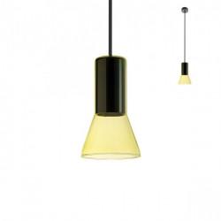 Corp iluminat Redo 01-1687 Jano - Lustra, max 1x42W, E27, IP20, sticlă suflată galben.