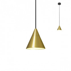 Corp iluminat Redo 01-2349 Eiko - Lustra led, 7W, 396lm, 3000k, IP20, bronz periat