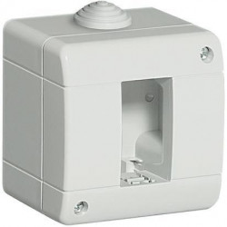 Doza aparenta Bticino 24401 Living Light - Doza aparenta IP40, 1 modul, alba