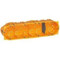 Doza Legrand 80044 Celiane - Doza 4 posturi, pentru rigips, inaltime 40mm