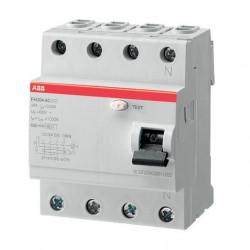Intrerupator automat ABB 2CSF204003R3250 - FH204 AC-25/0,3, 25A, 0.3A, 4P, AC