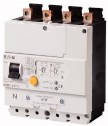 Intrerupator automat Eaton 104614 - NZM1-4-XFIU-Declansator ptr curent diferential reglabil 100A