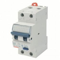 Intrerupator automat Gewiss GW94025 - COMPACT RCBO 2P C6 4.5KA AC/0.03 2M